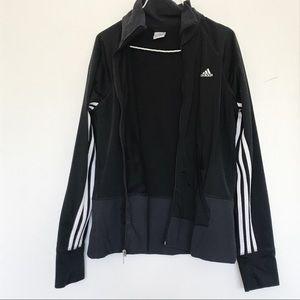 Adidas three stripe logo track suit jacket